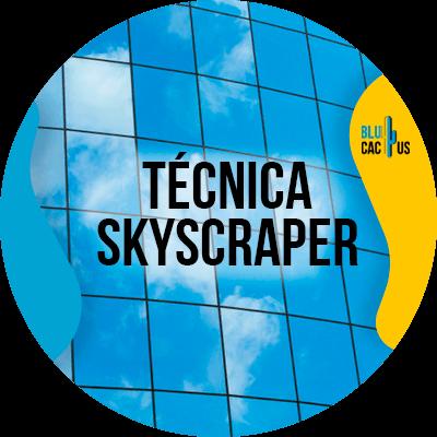 Blucactus Venezuela -Tecnica-Skyscraper