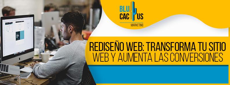 BluCactus Venezuela - Rediseño web - portada
