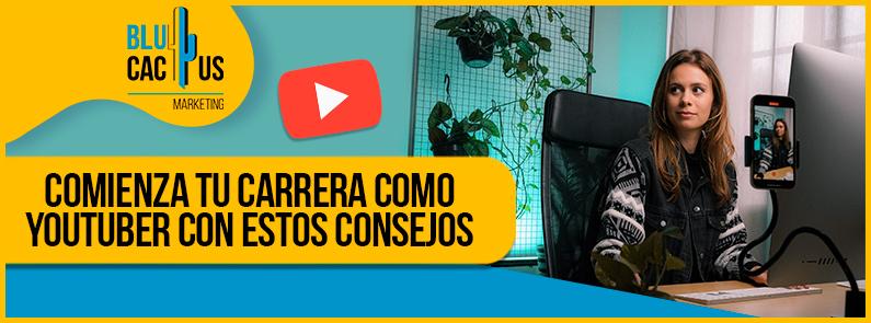 Blucactus VE - carrera como Youtuber - Portada