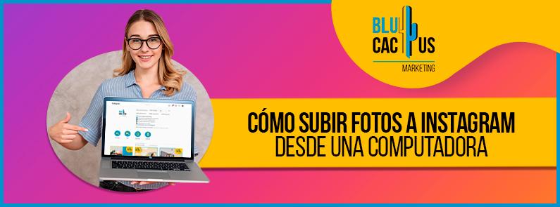 Blucactus VE - Cómo subir fotos a Instagram- Portada